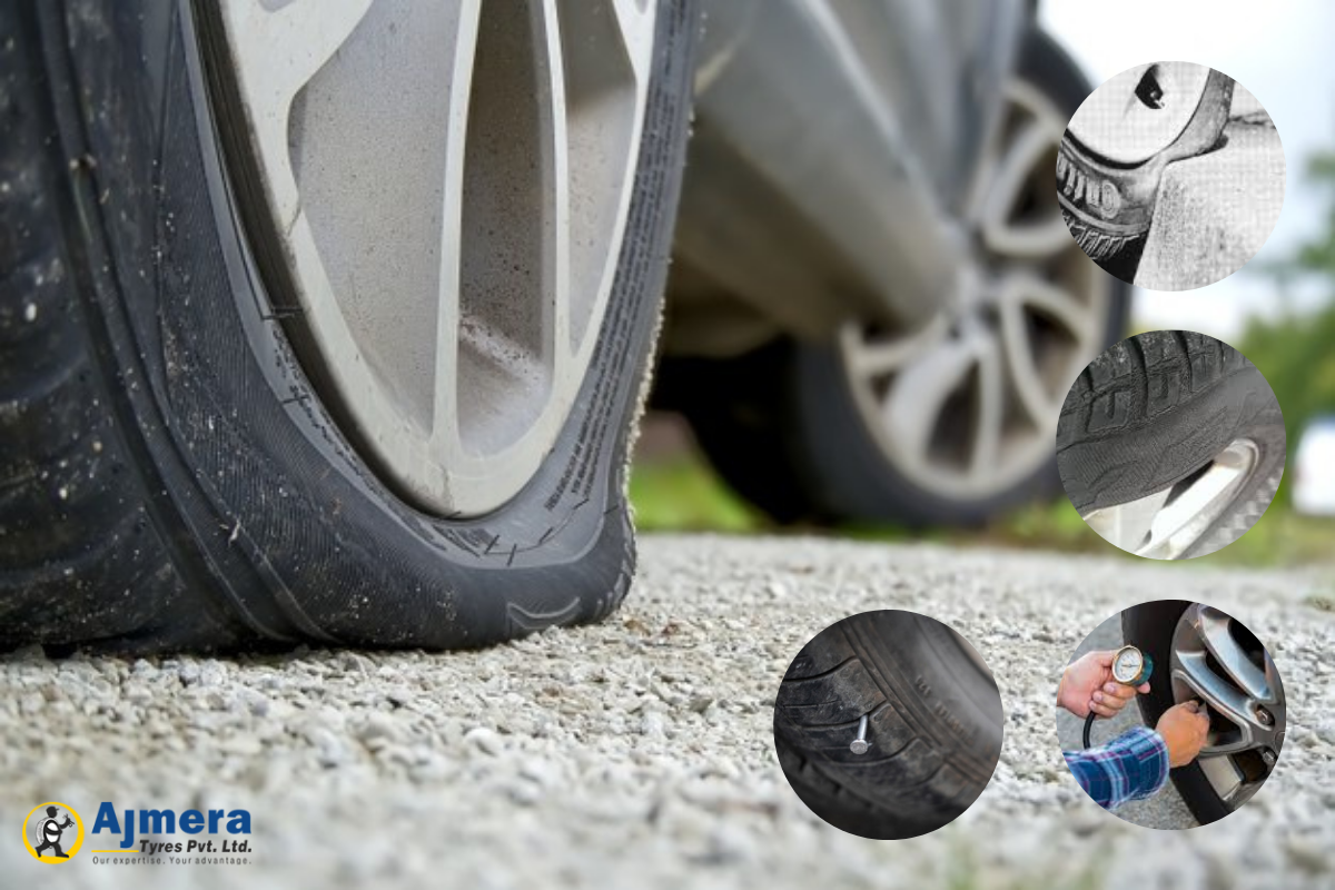 Causes Of Tyre Damage and How To Control It